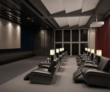 Designing an home theater